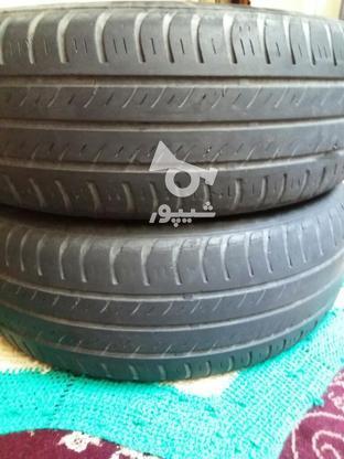 دو حلقه لاستیک بارز 40 درصدی  در گروه خرید و فروش وسایل نقلیه در تهران در شیپور-عکس1