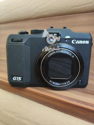 دوربین عکاسی و فیلمبرداری کنون g15 در گروه خرید و فروش لوازم الکترونیکی در کرمانشاه در شیپور-عکس1