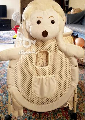 تخت متحرک نوزاد در گروه خرید و فروش لوازم شخصی در تهران در شیپور-عکس1