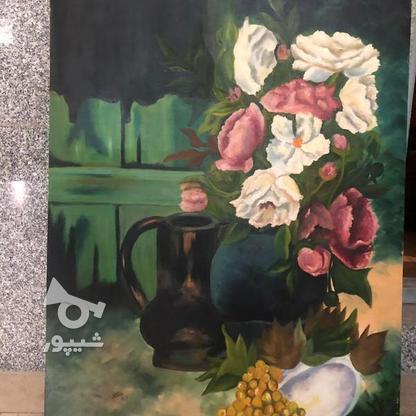 تعدادی تابلو نقاشی رنگ روغن و دکوپاژ در گروه خرید و فروش لوازم خانگی در تهران در شیپور-عکس1