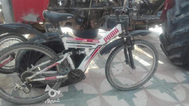 دوچرخه 26کمکی در گروه خرید و فروش ورزش فرهنگ فراغت در فارس در شیپور-عکس1