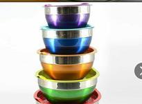 کاسه 5 عددی استیل رنگی در شیپور-عکس کوچک