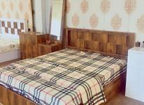 تخت دونفره مدل پازل و سرویس خواب ام دی اف در شیپور-عکس کوچک