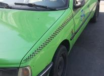 تاکسی روآ  گردشی مدل 86 سبز رنگ در شیپور-عکس کوچک