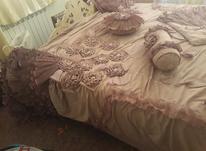 روتختی عروس.به همراه دوتا روبالشتی.دو کوسن.درحد نو در شیپور-عکس کوچک