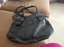 کیف زنانه مشکی چرم سالم بدون پلرگی در شیپور-عکس کوچک
