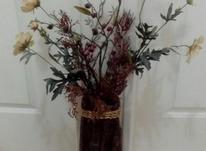 دو عدد گل با گلدان در شیپور-عکس کوچک