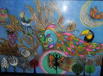 نقاشی مداد رنگی ابعاد 100در 70 در شیپور-عکس کوچک