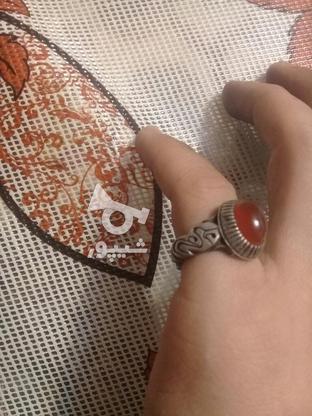 انگشتر عقیق یمن اصل قدیمی در گروه خرید و فروش لوازم خانگی در آذربایجان شرقی در شیپور-عکس1