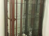 بوفه شیشه ای منبت دار در شیپور-عکس کوچک