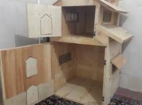 کلبه چوبی تزئینی در شیپور-عکس کوچک