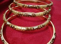 النگو طلا میناکاری در شیپور-عکس کوچک