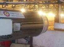 بخاری موشکی ( جت هیتر ) ،مشعل گازی ،گازوئیلی  در شیپور-عکس کوچک