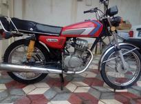 موتورسیکلت 125 تیزتک در شیپور-عکس کوچک