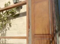 درب چوبی سه لنگه قدیمی فوري در شیپور-عکس کوچک
