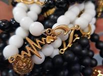 دستبند و گردنبند اونیکس عمده در شیپور-عکس کوچک