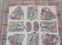 6 عدد سفره قلمکار 100سال پیش به ابعاد مختلف تهران  در شیپور-عکس کوچک