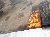 نصب ایزوگام قیرگونی و پخش اسفالت در شیپور-عکس کوچک