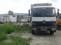 کامیون بنز آتیگو ده چرخ دو کابین در شیپور-عکس کوچک