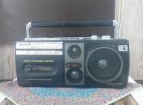 رادیو ضبط پاناسونیک قدیمی در شیپور-عکس کوچک