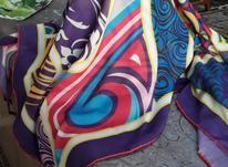 روسری نخی دور دست دوز  در شیپور-عکس کوچک