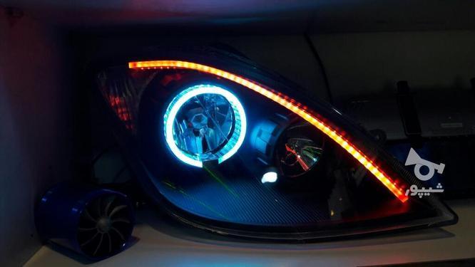 چراغ جلو تیبا 1/2طرحBMW3D در گروه خرید و فروش وسایل نقلیه در تهران در شیپور-عکس2