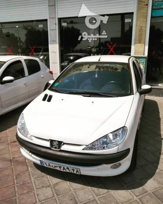 پژو 206 تیپ2 سفید ( نقد و اقساط ) در گروه خرید و فروش وسایل نقلیه در تهران در شیپور-عکس1