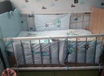 تخت برند شرکتی کودک با تشک رویال نو در شیپور-عکس کوچک