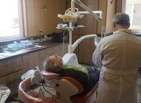 بلچینگ (سفیدکردن دندان ها ) با استفاده از دستگاه ا در شیپور-عکس کوچک