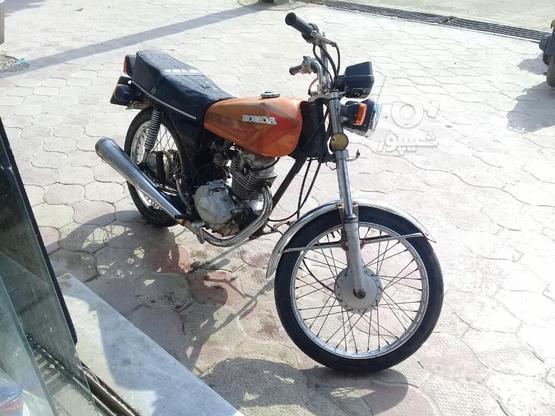 موتورسیکلت هوندا مزایدی برگه اوراق در گروه خرید و فروش وسایل نقلیه در گلستان در شیپور-عکس1