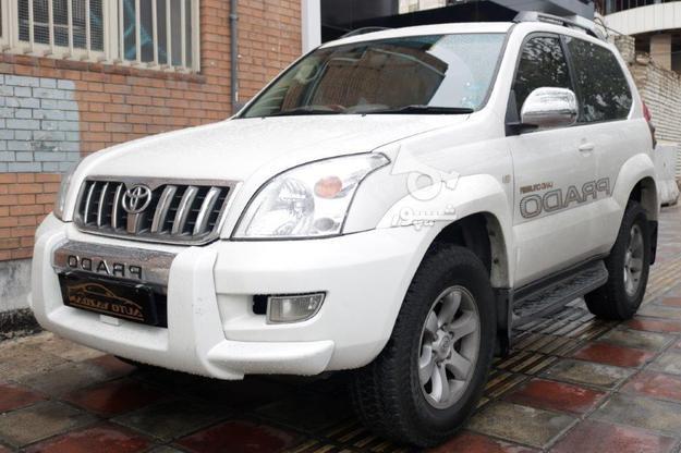 تویوتا پرادو 2 درب مدل 2007 سفید رنگ در گروه خرید و فروش وسایل نقلیه در تهران در شیپور-عکس1