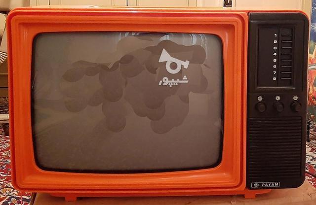 تلویزیون 14 اینچ سیاه سفید قدیمی در گروه خرید و فروش لوازم خانگی در تهران در شیپور-عکس1