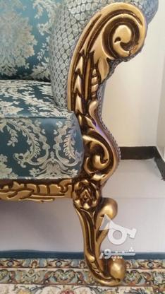 مبلمان سلطنتی هفت نفره چوبی آکبند در گروه خرید و فروش لوازم خانگی در تهران در شیپور-عکس1