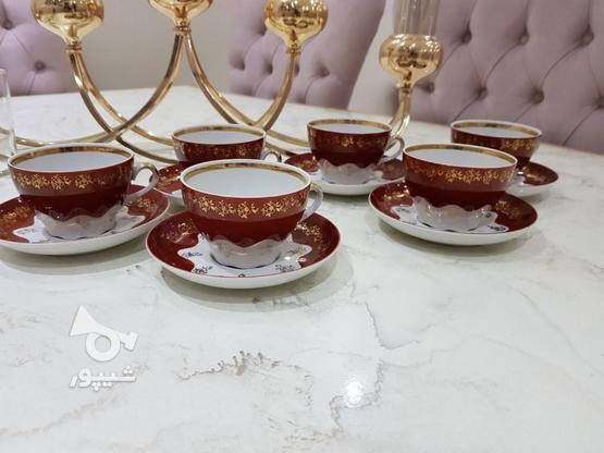 1دست فنجون نعلبکی روسی کهنه سالم تمیز در گروه خرید و فروش لوازم خانگی در تهران در شیپور-عکس1