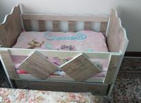 تخت خواب گهواره ای کودک در شیپور-عکس کوچک