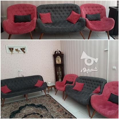 مبل 7 نفره همراه با میز وسط و عسلی در گروه خرید و فروش لوازم خانگی در تهران در شیپور-عکس1