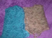 یک شال سر مارک T.T.اصل اورجینال دو رنگ در شیپور-عکس کوچک