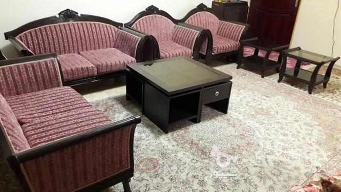 مبل راحتی مدل صدفی با عسلی  و جلو مبلی در گروه خرید و فروش لوازم خانگی در تهران در شیپور-عکس1