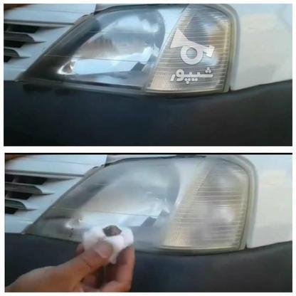 فروش محلول از بین برنده کدری چراغ خودرو تندر در گروه خرید و فروش وسایل نقلیه در تهران در شیپور-عکس1