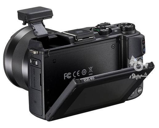 دوربین دیجیتال بدون آینه کانن مدل EOS M3  در گروه خرید و فروش لوازم الکترونیکی در تهران در شیپور-عکس1