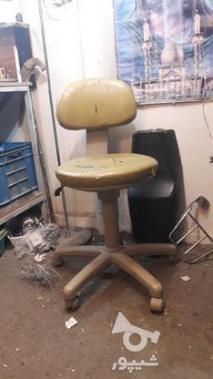 صندلی جک دار گردون چرخ دار .میز کامپیوتر .مانیتور  در گروه خرید و فروش کسب و کار در تهران در شیپور-عکس1