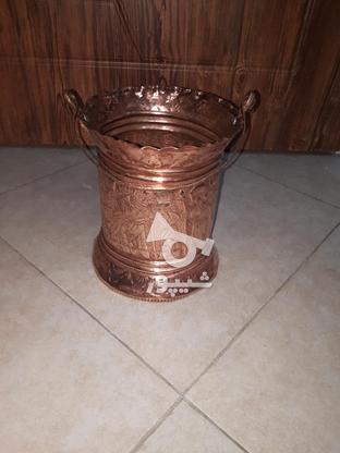 سطل مسی فروش فوری در گروه خرید و فروش لوازم خانگی در تهران در شیپور-عکس1
