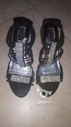 کفش نگین دار بندی مجلسی  در گروه خرید و فروش لوازم شخصی در تهران در شیپور-عکس1