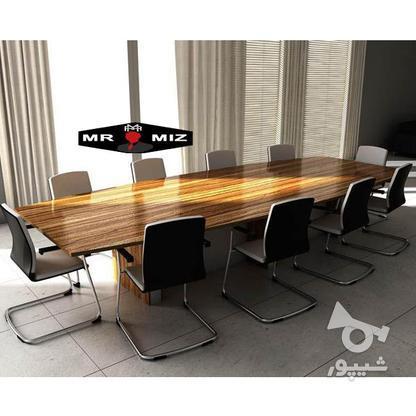 میز اداری و کنفرانس آروین در گروه خرید و فروش کسب و کار در تهران در شیپور-عکس1