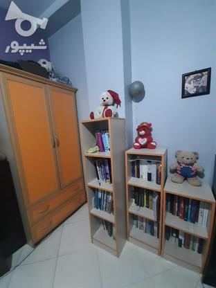 ست کتابخانه و کمد لباس همراه با دو کشو بزرگ در گروه خرید و فروش لوازم خانگی در تهران در شیپور-عکس1