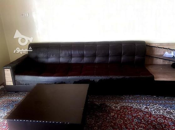 مبل 10نفره با میز وسط و میز کناری و 2عدد عسلی در گروه خرید و فروش لوازم خانگی در تهران در شیپور-عکس1
