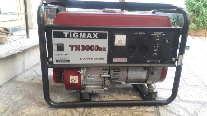 موتور برق تیگمکس3800dx در گروه خرید و فروش کسب و کار در تهران در شیپور-عکس1