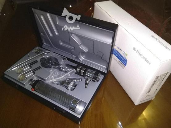 ست معاینه اتوسکوپ و افتالموسکوپ ریشتر آلمان در گروه خرید و فروش لوازم شخصی در تهران در شیپور-عکس1