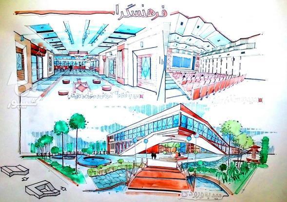 تدریس خصوصی اسکیس ترسیم پرسپکتیو روند طراحی معماری در گروه خرید و فروش خدمات و کسب و کار در تهران در شیپور-عکس2