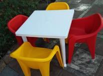 صندلی پلاستیکی و میز پلاستیکی در شیپور-عکس کوچک